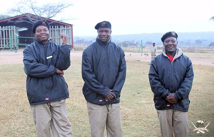 Camp Jabulani elephant groom - Stavros Chakoma