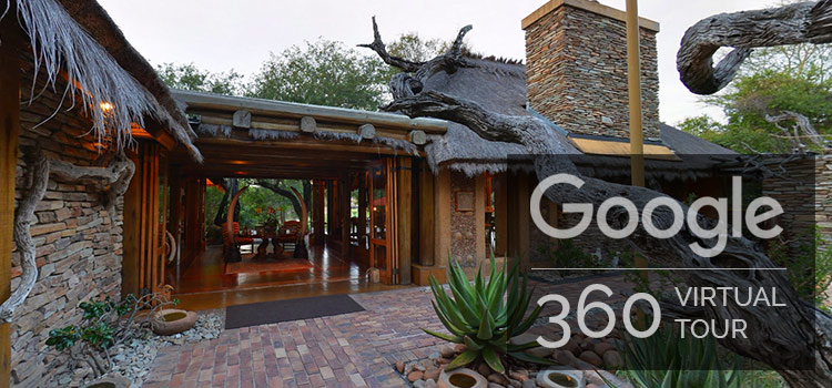 camp jabulani google 360 virtual tour of the lodge