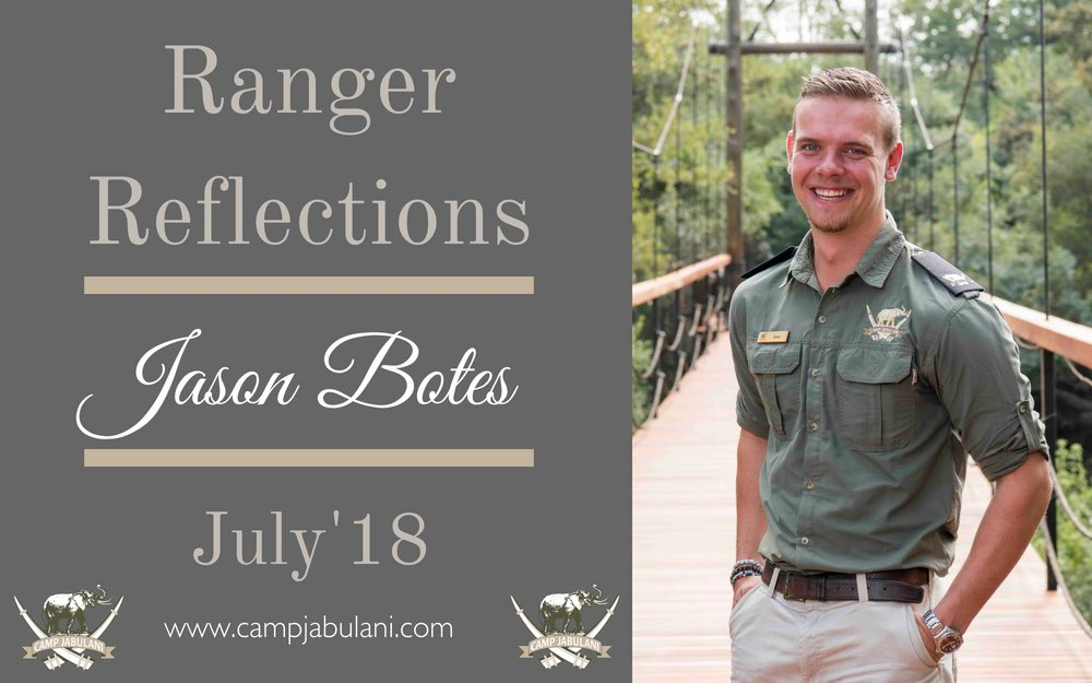 Camp Jabulani Ranger, Jason Botes