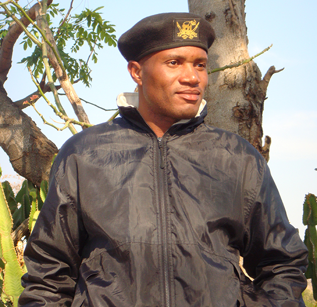 Isaac Mathole, elephant manager at Camp Jabulani