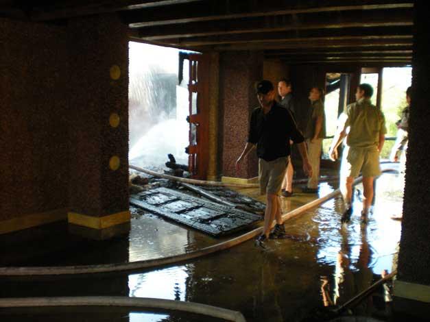 Flooded Foyer