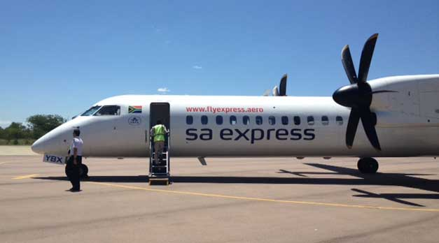 SA Express flies daily from OR Tambo International to Hoedspruit